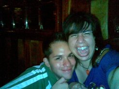 Good times with my good friend Luis, at Greenwich Pub in Altamira, eastern Caracas (2009)