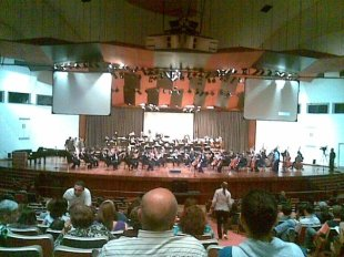 "Performance of Gustav Holst ""The Planets"" by the Caracas Municipal Orchestra in 2009"