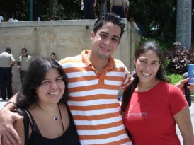 Venezuelan guys are cute ;) (2007 in Parque del Este, eastern Caracas)