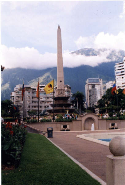 Plaza Altamira -- one of my absolute favorite spots in my hometown, Caracas, Venezuela.